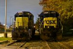 Old CSX units rust away
