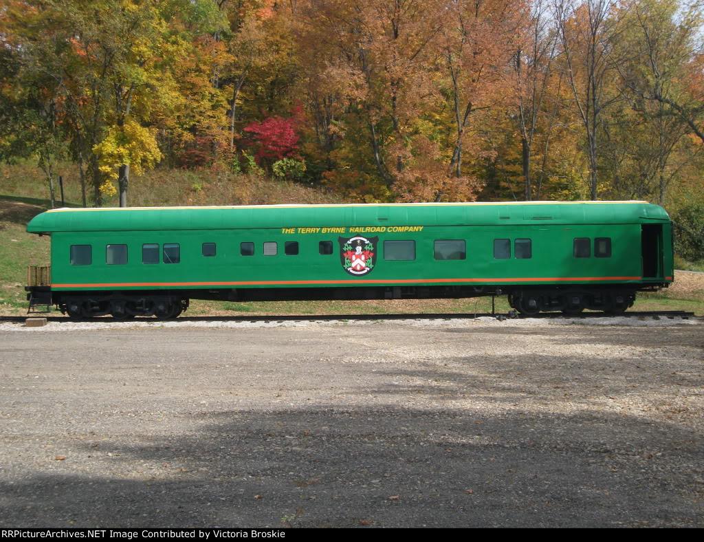 Passenger Car At Buckeye Express Diner