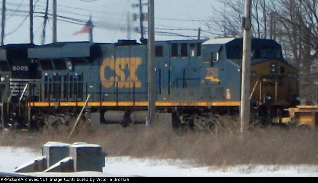 CSX #750