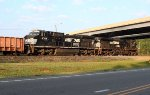 NS EB parked in the yard