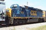 CSX 6155 on F718