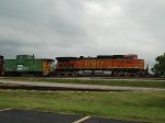 BNSF 5399 and BN 12416