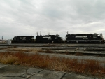 NS 5836(GP38-3) NS 5525(GP38-2) NS 5532(GP38-2)