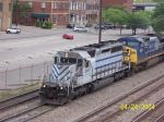 Leaser on Southbound CSX