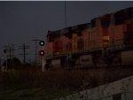 BNSF ES44DC 7279 & CLEAR SIGNAL