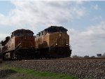 BNSF ES44DC 7353 & UP AC4400CW 6457