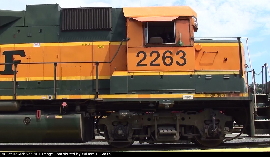 Balmer Yard Switching engine