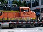 Balmer Yard Southern lead track -3