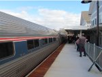 Amtrak 691 at Brunswick