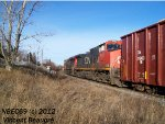 CN 2623 on the 403 West