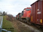 CN 2153 on the 403 West