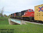 CN 2149 on the 403 West