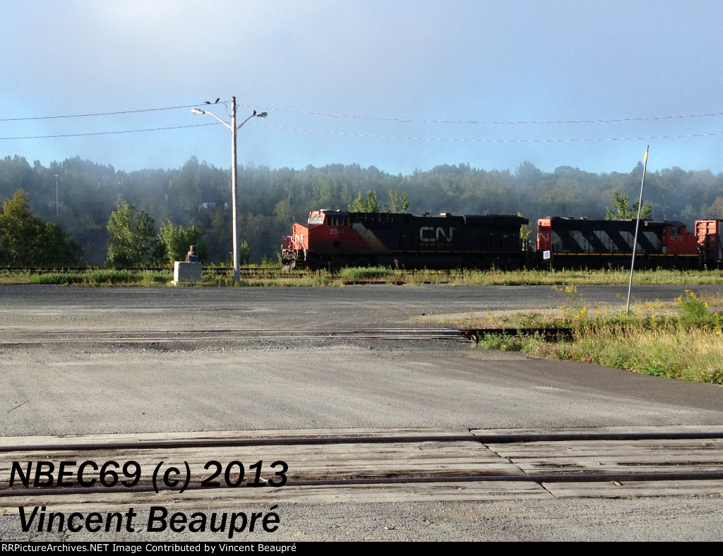 CN 2344 on the Extra 474 East