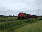 CN 2854 leading the 474 East
