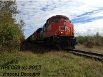 CN 8960 on the 403 Westbound