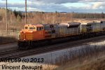 QNS&L 501 on the 501 Southbound Iron Ore