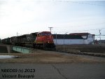 CN 5641 on the 402 East