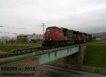 CN 5763 on the 403 West