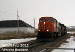 CN 5784 on the 403 West
