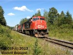 CN 5703 on the 121 West
