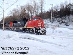 CN 5708 on the 403 West