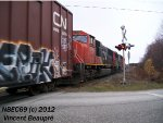 CN 5739 on the 403 West