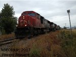 CN 5795 on the 403 West