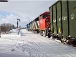CN 5553 on the 403 West
