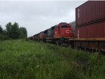 CN 5465 on the 121 West