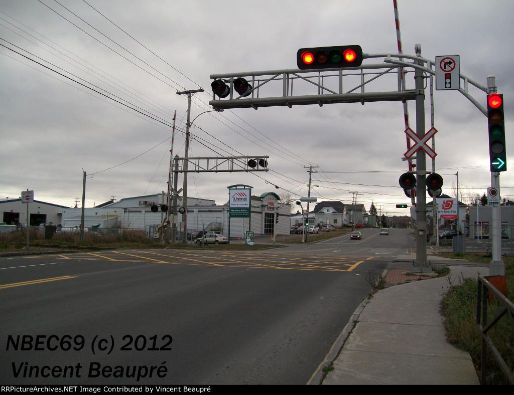 Crossing Milepost 122.39 Mont-Joli SUB.