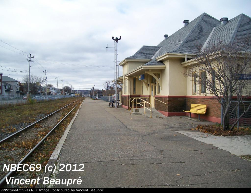 Rimouski Station, Milepost 123.4, Mont-Joli SUB.