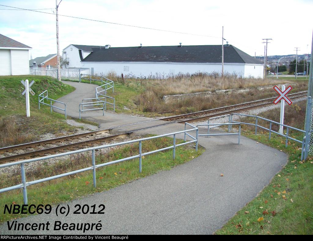 Crossing Milepost 124.62, Mont-Joli SUB.