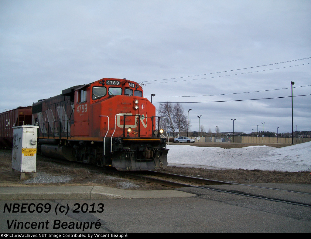 CN 4789 on the 559 West