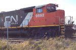CN 9592 on the 561 West