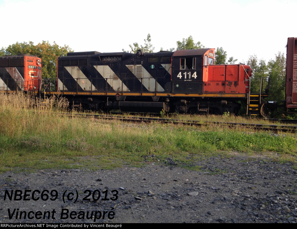 CN 4114 on the 578 East