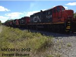 CN 7000 on the 308 East