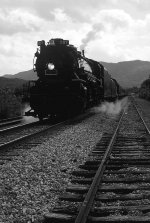 NKP 587 at photo runby site,bound for Bulls Gap from Asheville