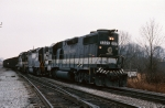NS 5227 pulls coal train