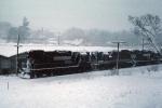 NS 5232 in April snowstorm