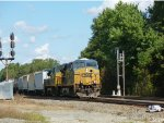 CSX 5343 and 7772