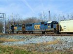 CSX 8665 WB Local on the Cumberland Sub