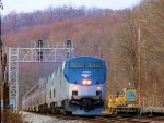 """AMTK 124 P030 """"Capitol Limited"""" at CP Confluence on the CSX Keystone Sub"""
