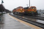BNSF 5707 and 2359