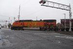 BNSF 5394 Goes Solo on the Head End