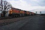 4319 Leads Two SD70MACs on a Loaded Coal Train
