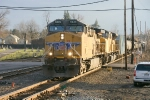 CSX K683 w/ UP 5839 & 8211 on point.