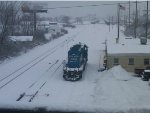 NS/CSX Freight Yard 2012