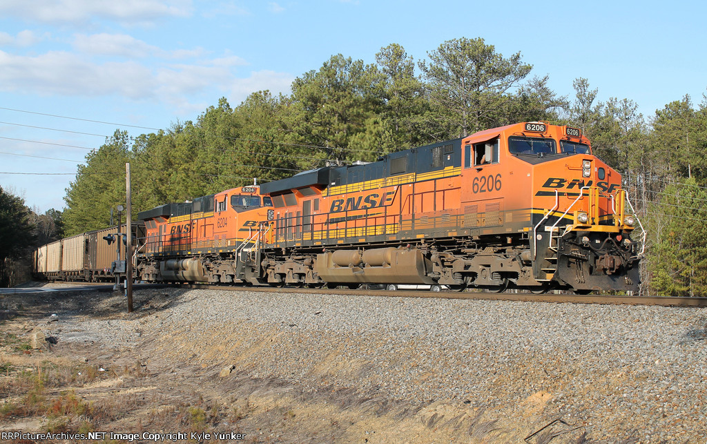 NS #736 working up Braswell Mountain