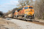 BNSF Scherer coal train NS #736