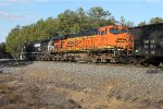 BNSF DPU & NS manned helper